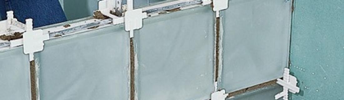 Как правильно сделать монтаж стеклоблоков