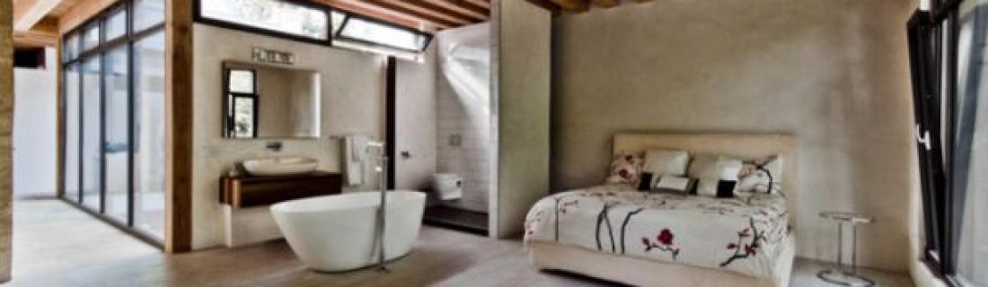 Ванные комнаты в составе спален-сьютов