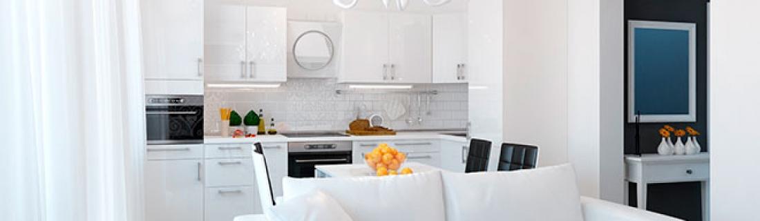 Как совместить кухню и гостиную