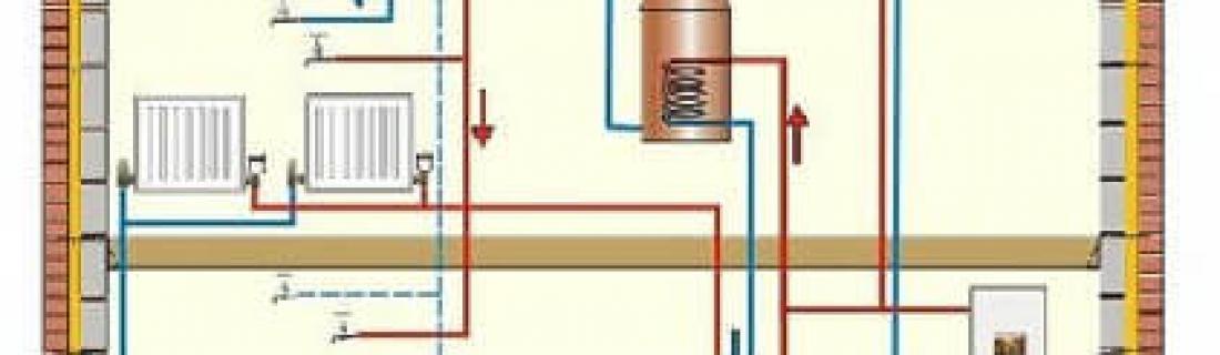 Тонкости систем отопления двухэтажного дома