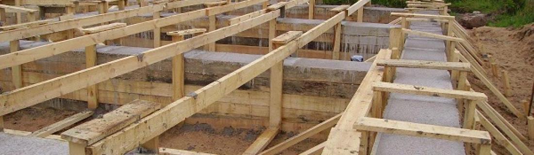 Для чего нужно опалубка при строительстве