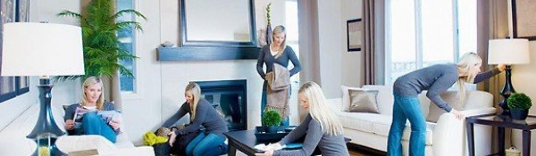Как быстро в квартире навести порядок