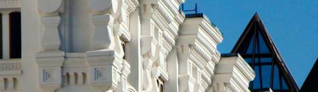 Архитектурный бетон в наружной отделке