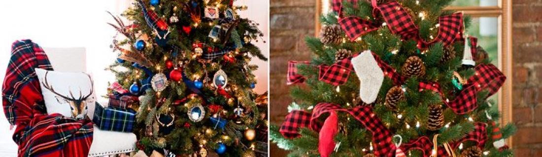 Как стильно украсить новогоднюю елку