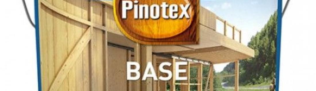 Деревозащитная грунтовка для древесины Pinotex Base
