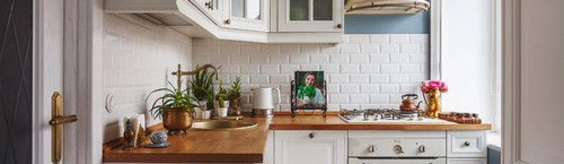 Как визуально увеличить кухню