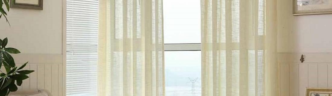 Как с помощью штор увеличить пространство