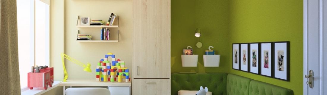 Выбираем цветовое решение для детской