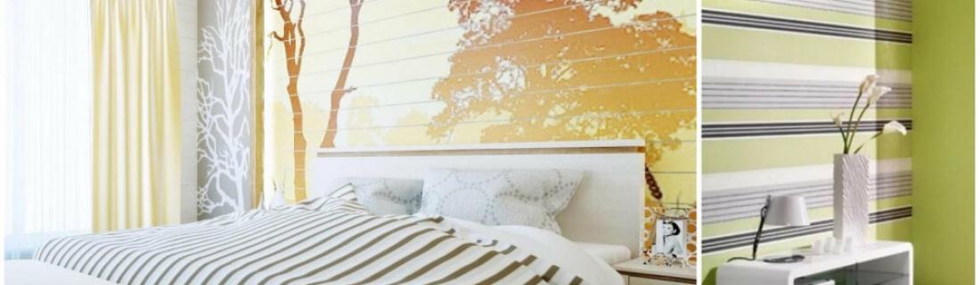 Выбираем идеальные обои для спальни