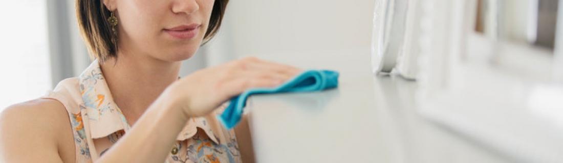 Как вытирать пыль правильно