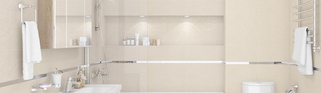 Что в оформлении ванной визуально «съедает» пространство