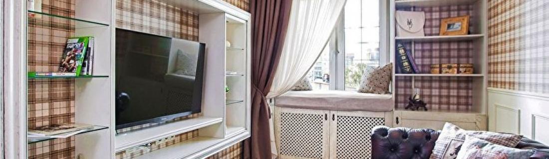 Улучшаем интерьер гостиной и прихожей бюджетно