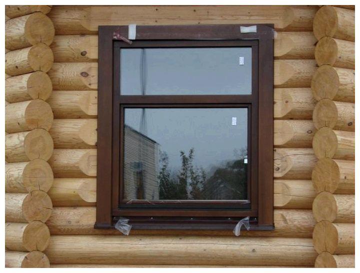 стоимость установки пластикового окна в деревянном доме