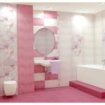 Плитка для ванной – выбор № 1
