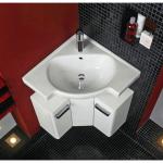 Что делать, если в ванну не помещается стандартная раковина?
