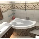 Маленькая ванна: удобство и стиль в одном лице