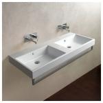 Оригинальное решение для ванной – раковина из искусственного камня