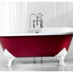 Выбор чугунной ванны: обзор материала, параметров и форм