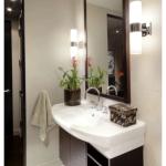 Качественное освещение в ванной комнате: выбираем бра