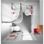 Примеры дизайна совмещенного санузла в различных ванных комнатах