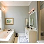 Как красиво покрасить стены в ванной комнате