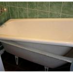 Реставрируем ванну кардинально: метод акриловой вставки