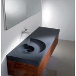 Обставляем ванную: квадратная раковина
