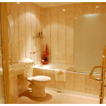Отделываем ванную комнату: сайдинг и его особенности