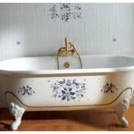 Классика для вашего удобства: установка чугунной ванной