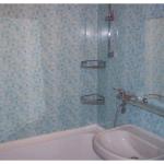 Можно ли отделать ванную пластиковыми панелями?