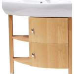 Комплекты для ванной: угловые тумбы с раковиной