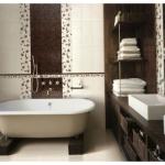 Новые и давно забытые варианты отделки ванной комнаты