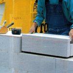 Стены из легкого, ячеистого бетона