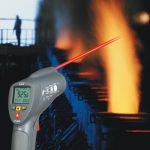 Бесконтактное измерение температур пирометром