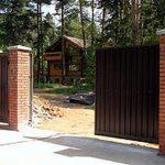 Что собой представляют откатные ворота