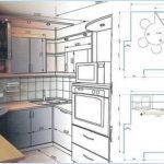Проектирование гарнитура для кухни: с чего начать?