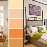Сочетание цветов в интерьере спальни