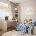 3 способа зонирования комнаты для ребенка и родителей