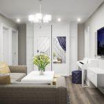 Интерьер квартиры с низкими потолками. Секреты оформления